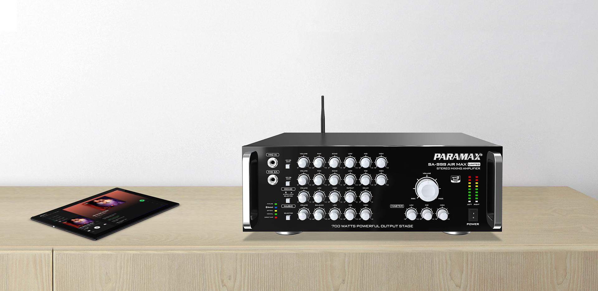 Amply - Mixer - Micro